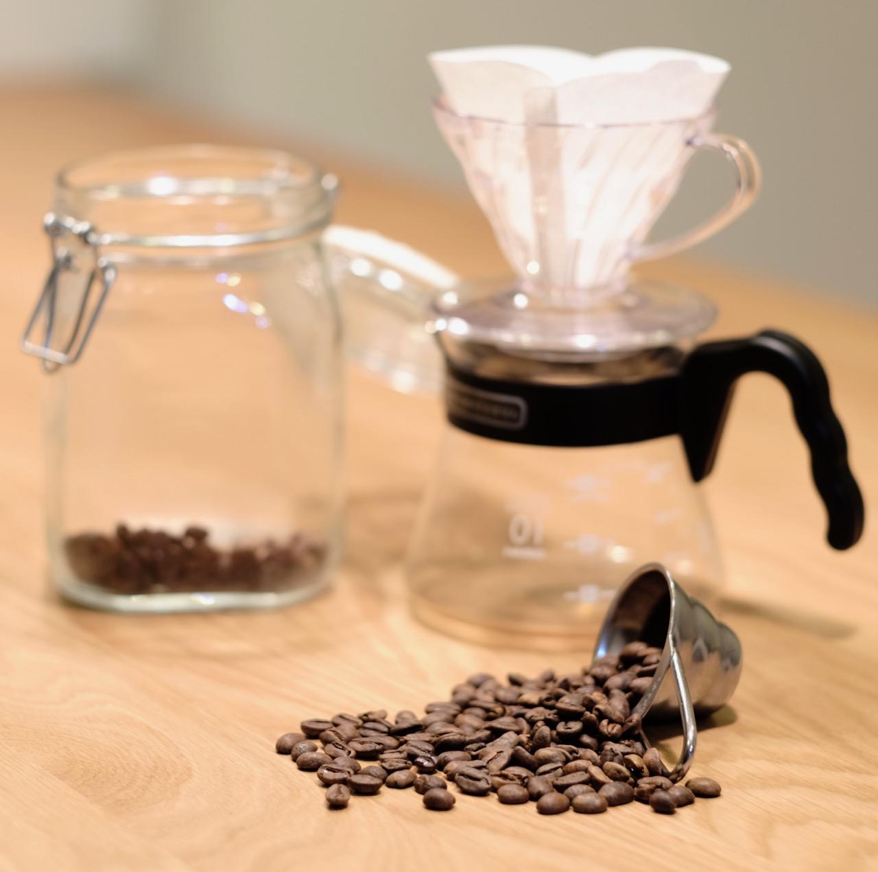 コーヒー 豆 一杯 分量